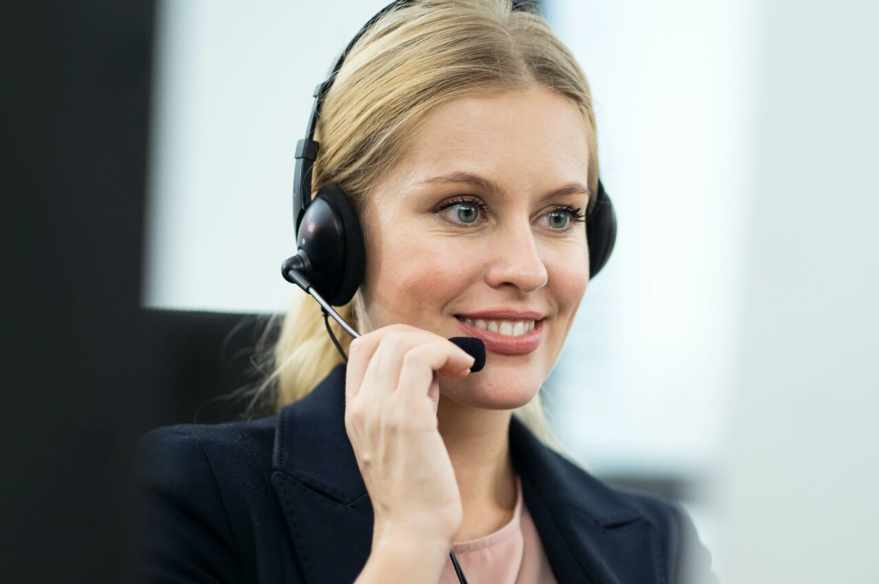 Speaking from a contact center